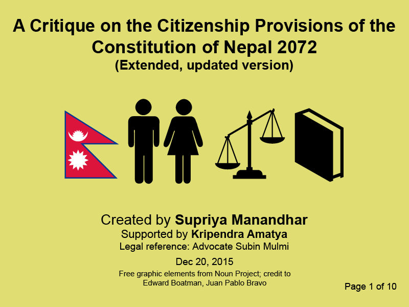 social discrimination in nepal Caste discrimination involves massive violations of civil, political, economic, social and cultural rights it is often outlawed in countries affected by it, but a lack of implementation of legislation and caste-bias within the justice systems largely leave dalits without protection.