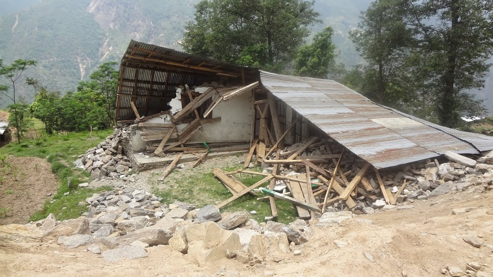Post Quake - Saat Kanya school