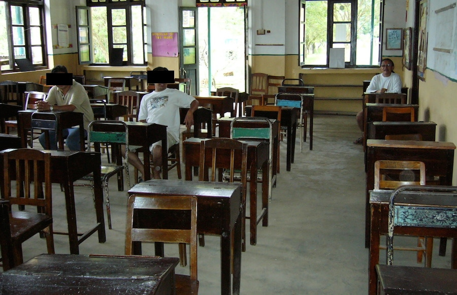 godavari 5th class seating 1