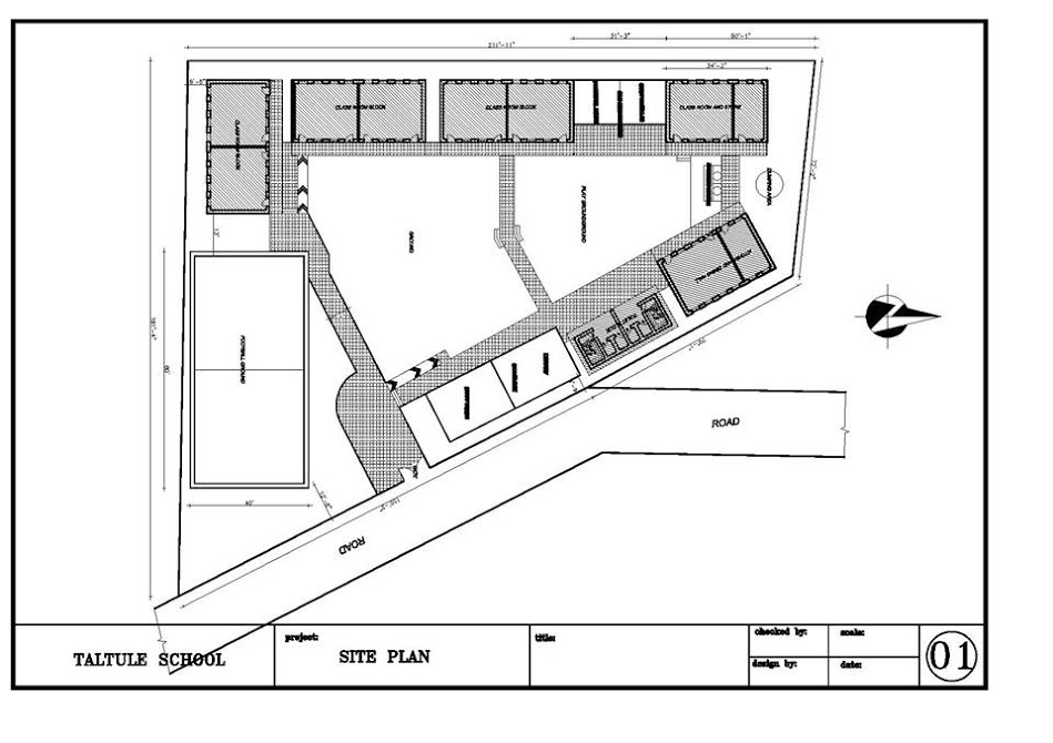 taltuleshwori school site plan