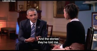 President Obama - stories of people
