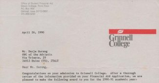 Grinnell College financial aid offer-feat image