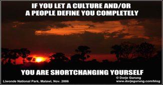 don't let culture define you-feat image
