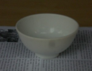 coin in the bowl - empty bowl small