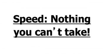 speed nothing you can't take-feat image