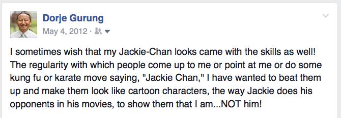 jackie chan post
