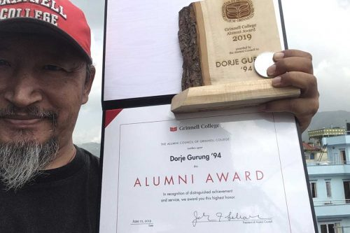 Read more about the article Grinnell Alumni Award: Citation