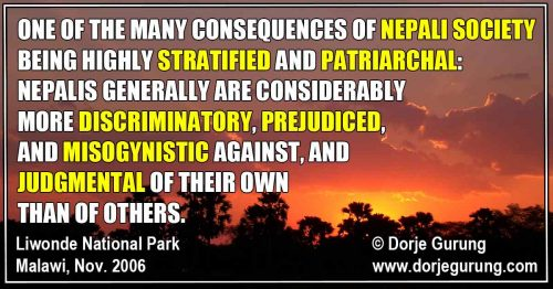 Read more about the article When Nepalis Use the Caste System to Make Others Suffer…with an Exception
