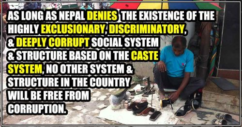 Read more about the article Caste System Can Corrupt The Mind, Kill The Spirit, And Strip One of Humanity