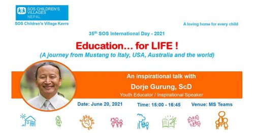 Read more about the article SOS Children's Village: Education…for LIFE!